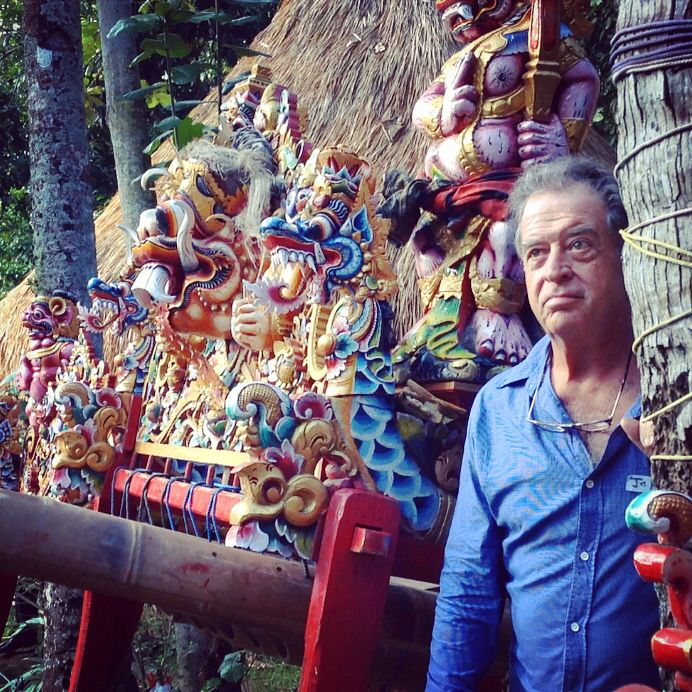 John Hardy, our visionaire founder. #greenschoolbali