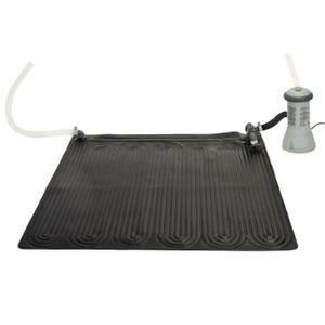 Tapis solaire qui permet de gagner 3 à 5° en fonction de la température extérieure.