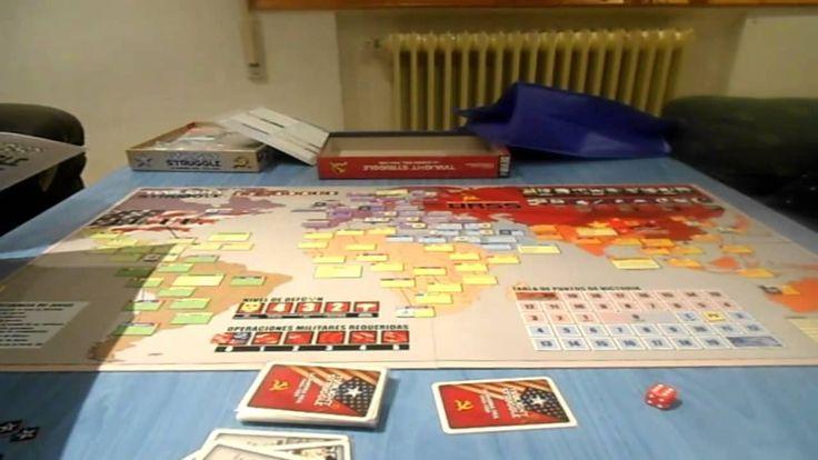 Partida a Twilight Struggle Visita nuestro blog: http://boardgamescave.wordpress.com/