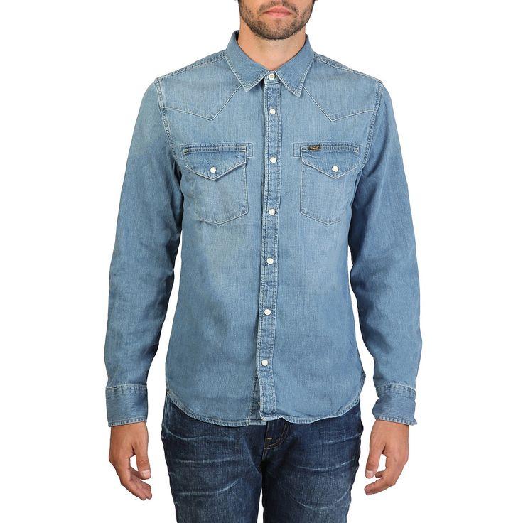 Camisa vaquera Hombre LEE L643AFWD. ·Tipo Regular fit · 100% Algodón     #camisas #LEE #moda #modahombre #decompras #algodon #tienda #tiendaonline #fashion