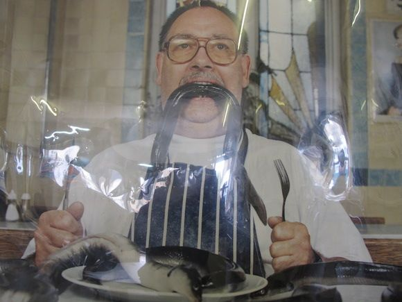 Eating out: Jellied eels and mash F. Cooke