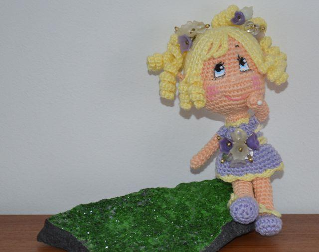 Free Amigurumi Fairy Pattern : Fairy doll..free pattern Amigurumi Pinterest