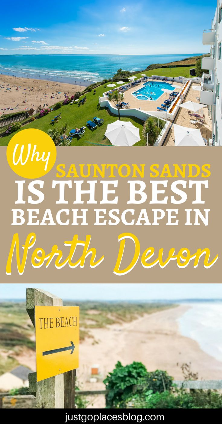 Why Saunton Sands hotel is a great choice if you are looking for the perfect beach escape with the family in North Devon. Saunton Sands hotel is a luxury family hotel in North Devon and will cater to your every need: read on for a full review. | North Devon coast | North Devon hotels | North Devon beaches | Saunton Sands Devon England - via @justgoplaces