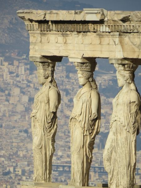 The Caryatides, Acropolis of Athens