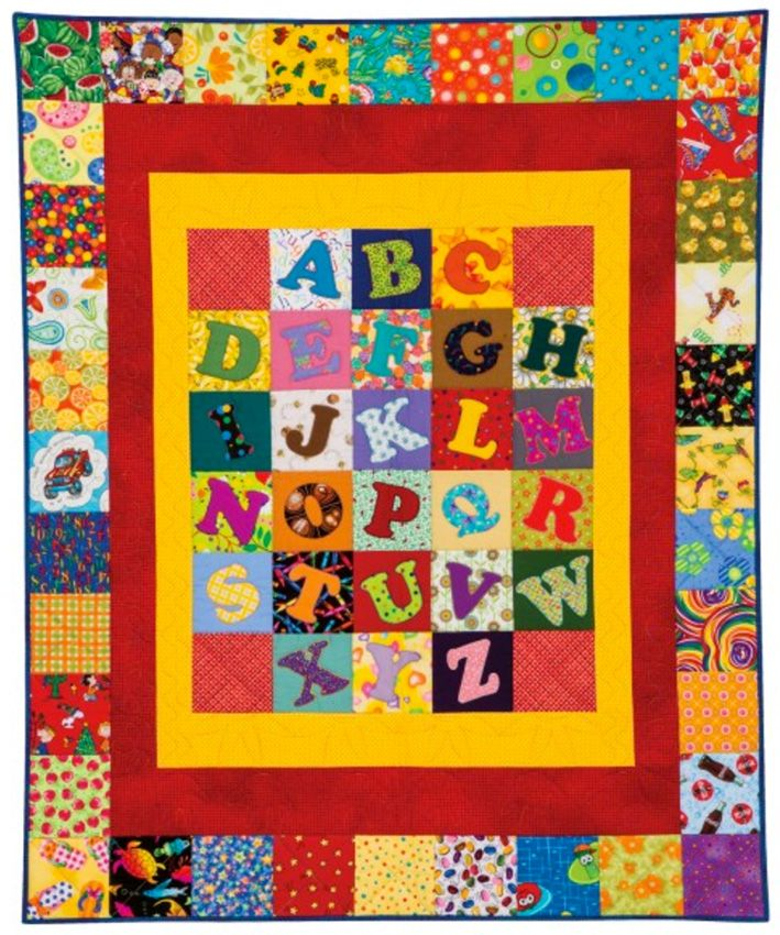 25+ Best Ideas about Alphabet Quilt on Pinterest Patchwork patterns, Baby quilt patterns and ...