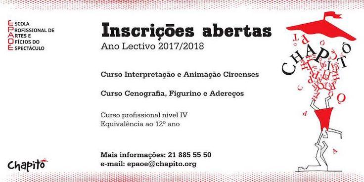 Já abriram as inscrições para o Chapitô, inscrição, inscrições, Chapitô, Escola Profissional de Artes e Ofícios do Espectáculo do Chapitô, curso