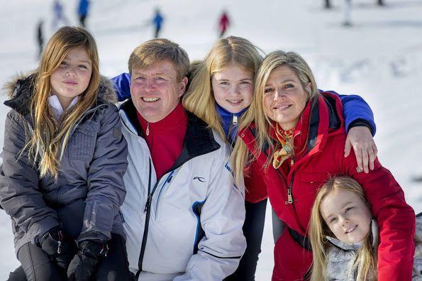 Принцесса Алексия попал в аварию в Лех горнолыжный Центр-сайт Королевского дома Нидерландов
