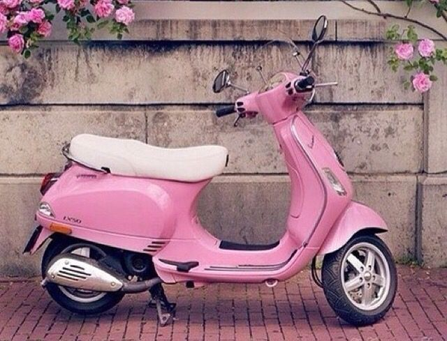get your pink scooter and away you go things that are pink pinterest scooters. Black Bedroom Furniture Sets. Home Design Ideas
