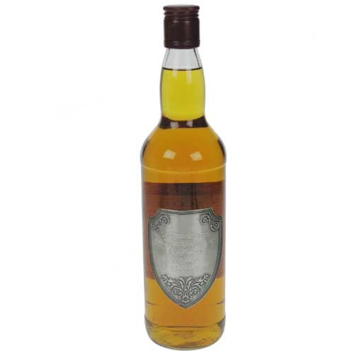 Personalised Single Malt Whisky 10 Year Old with Engraved Pewter Label £59.99