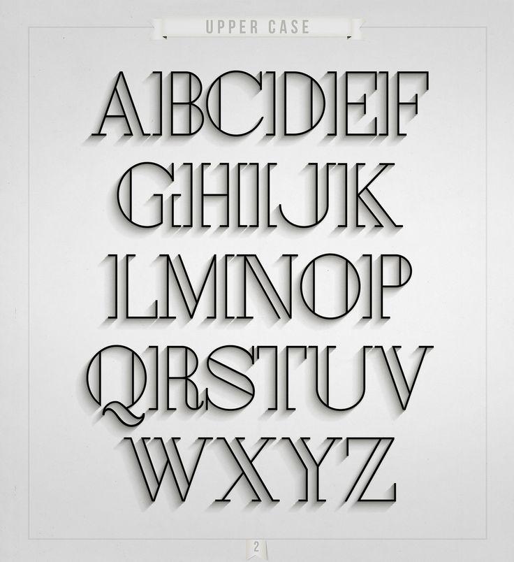 London – Free Art Deco Font Poster B