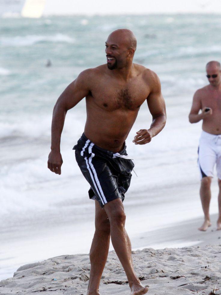 Rapper Common Beach Running
