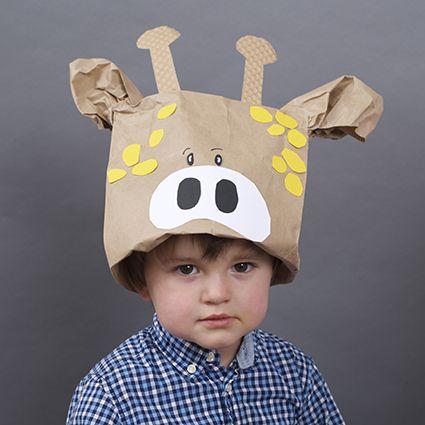 Tiermasken selbst gemacht | Ab sofort in jeder Ausgabe von ELTERN: Die Spielwiese. Mit tollen Ideen für fröhliche Stunden mit dem Kind. Und mit Bastelvorschlägen. Diesmal mit einer tollen Bastelidee von Sabine Bohlmann: Tiermasken aus Tüten. Superschnell gemacht und ein Riesenspaß.