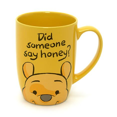 Disney Winnie the Pooh Peek-a-Boo Mug   Disney Store
