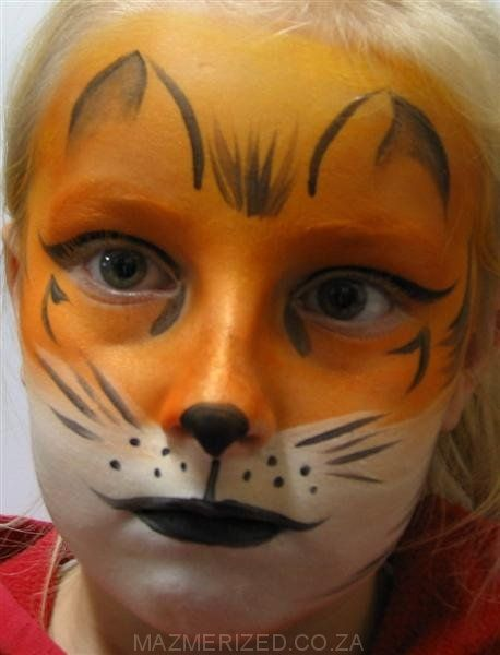 fox face painting