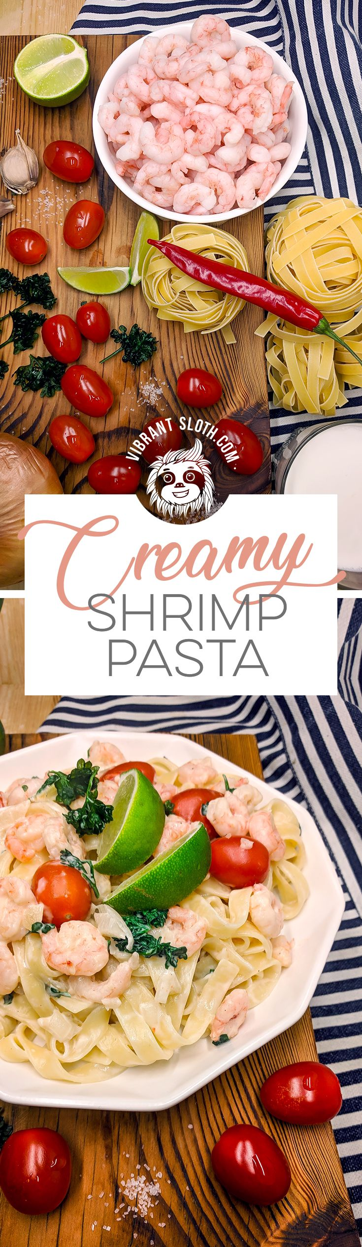 Shrimp pasta, Shrimp recipe, Healthy shrimp dinner, Easy recipe, Creamy pasta, Best shrimp dishes, Shrimp noodles, Frozen shrimp