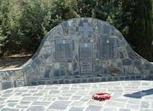 Memorial to members of 30 and 33 Squadrons RAF killed during Battle of Crete .