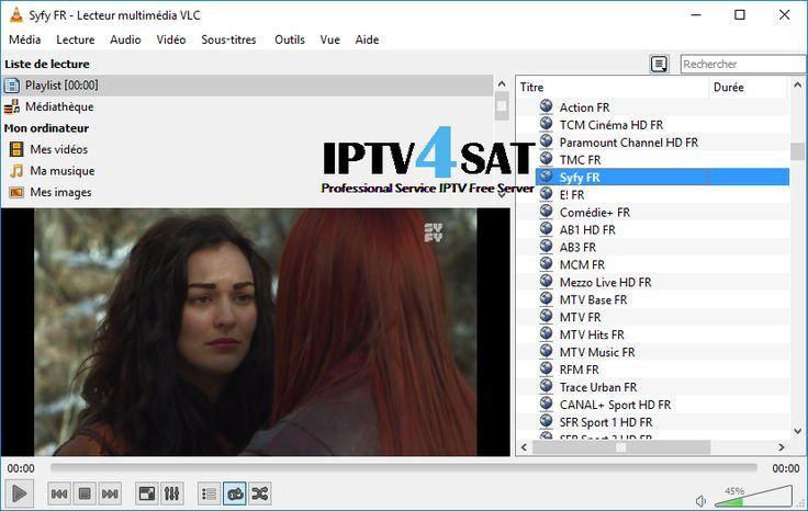 IPTV Playlist French M3u Serveur Chaînes 02/12/2017