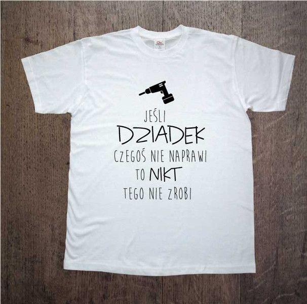 Dziadek+naprawi,+Męska+koszulka+z+nadrukiem,+w+DDshirt+na+DaWanda.com