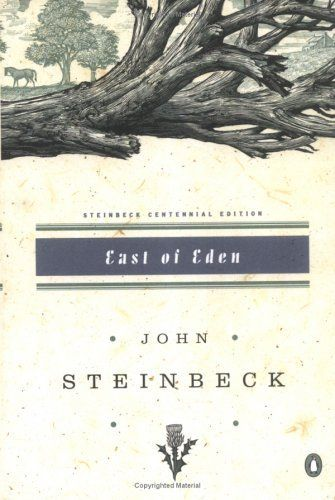 "Steinbeck's ""East of Eden."" This book helped me understand the concept of grace in an entirely new way. I closed the cover, grateful."