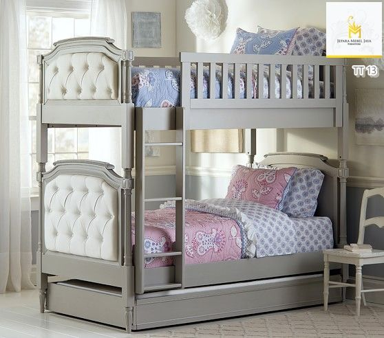 Tempat Tidur Tingkat Mewah Sofa Sorong