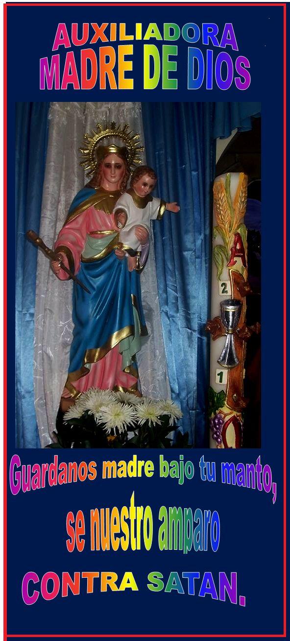 MARIA DESATADORA DE NUDOS... DESATA LOS NUDOS QUE OPRIMEN MI CORAZÓN.: NOVENA A MARIA AUXILIADORA