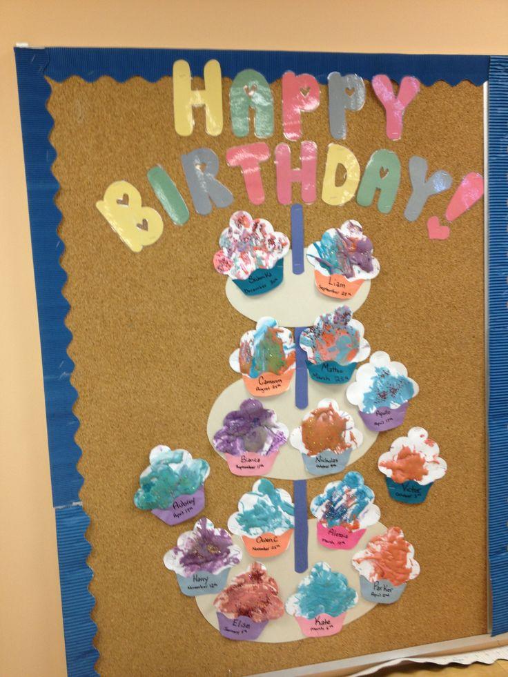Classroom Board Ideas For Preschool ~ Preschool birthday board class room pinterest