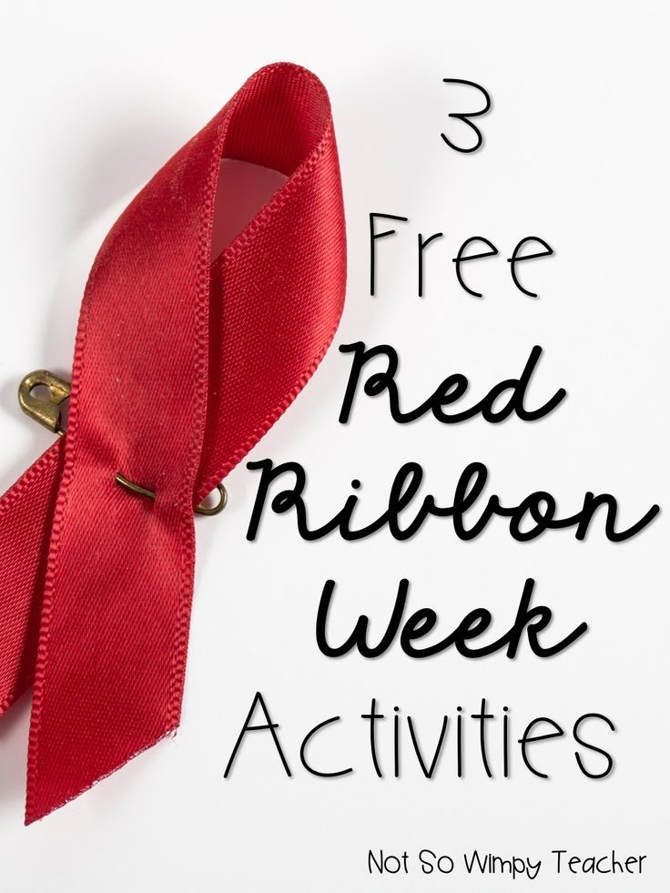 Three easy activities for Red Ribbon Week in the classroom. Includes a free spirit week flier and brag tag!