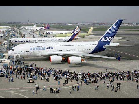 El avion de pasajeros mas grande del mundo Airbus a380 2C