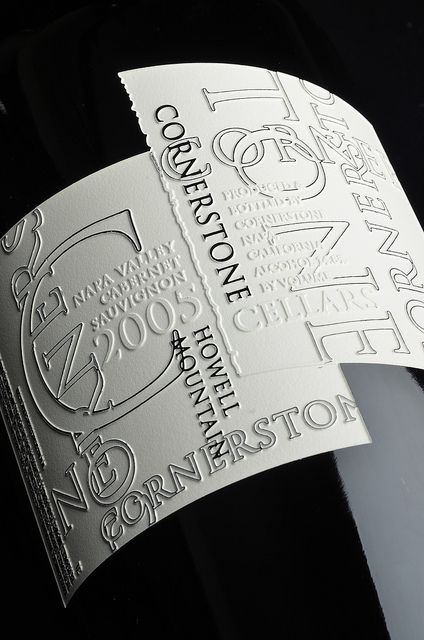 Cornerstone cab - this is a really neat label that translates into etching very well!
