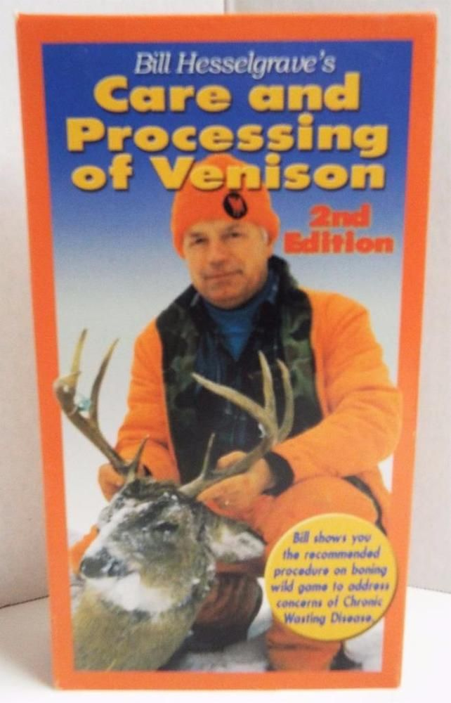Bill Hesselgraves Care and Processing of Venison Deer Hunting VHS How To Movie