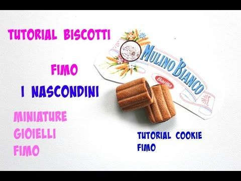 TUTORIAL BISCOTTI FIMO-TUTORIAL POLYMER CLAY COOKIE