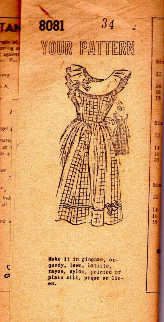 $14 vintage sewing pattern