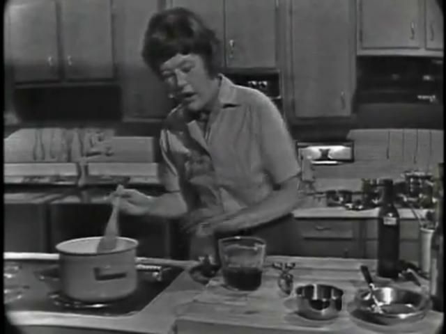 Julia Child, receta de Boeuf Bourguignon