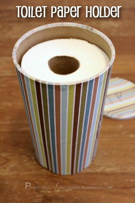 oatmeal canisterPaper Holders, Small Bathroom Storage, Small Bathrooms, Toilets Paper, Oatmeal Canisters, Diy, Storage Ideas, Upcycling Toilets, Toilet Paper