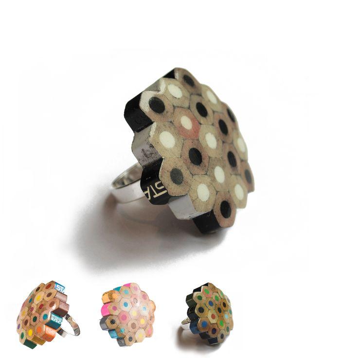 Lempiväri kennosormus http://www.ellihukka.net/ #MakersAndDoers #inspiration #fashion
