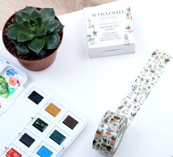 SPRING SALE  KIKUSUI Story Tape  Design for fun series by Vespapel, $9.85