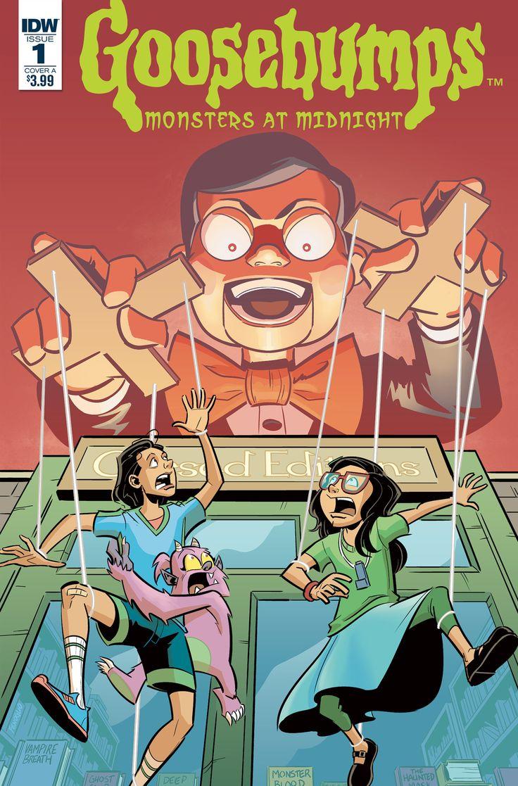 Goosebumps is getting a comic book series #Celebrity #comic #getting #goosebumps #series