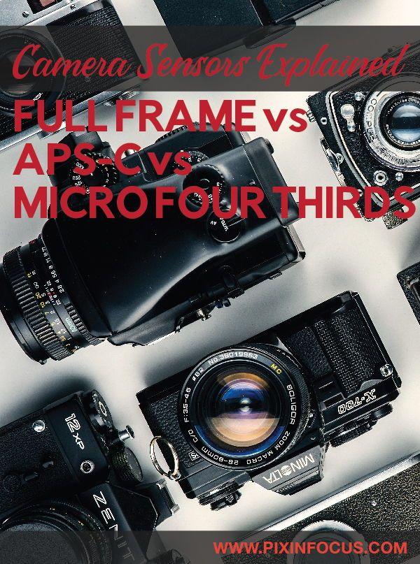 Crop Sensor Vs Full Frame Which One Is Best For You Sensor Full Frame Used Lenses