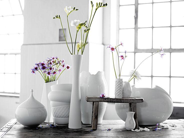Różnorodność form i koncepcji zawsze idzie w parze z najwyższą jakością porcelany Rosenthal  http://sklep.rosenthal.pl/category/wazony-