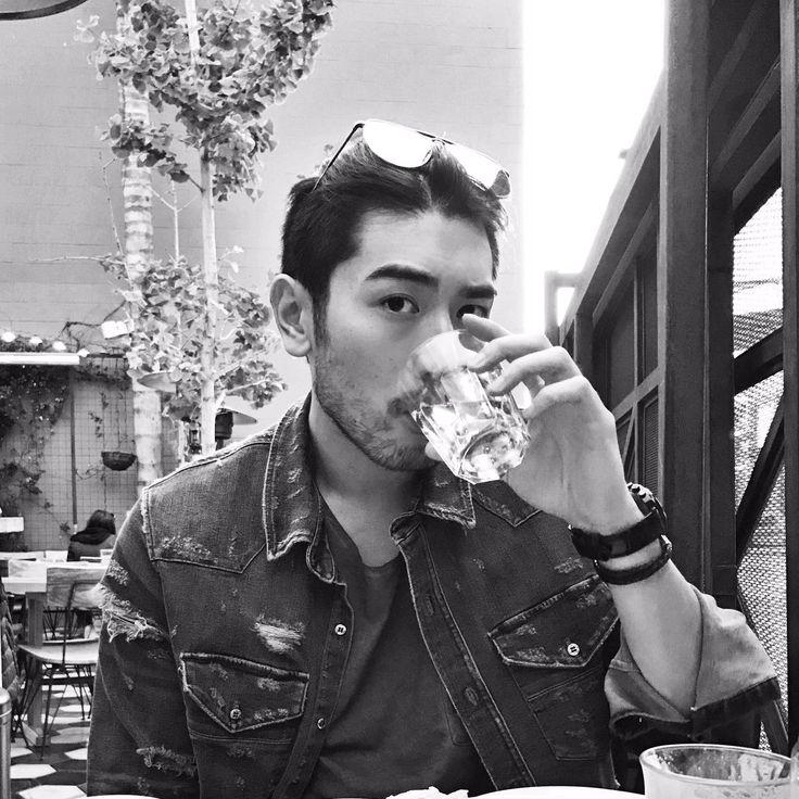 Godfrey Gao Daily — New Godfrey Gao twitter photo! 晚安Goodnight