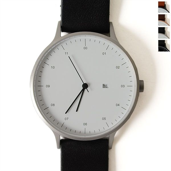 INSTRMNT (インストゥルメント):シンプルでミニマルなデザインが魅力の腕時計【メンズ】。【ポイント最大28倍!】INSTRMNT インストゥルメント レザーストラップ リストウォッチ/腕時計・2980(unisex)【2016秋冬】【送料無料】【クーポン対象外】