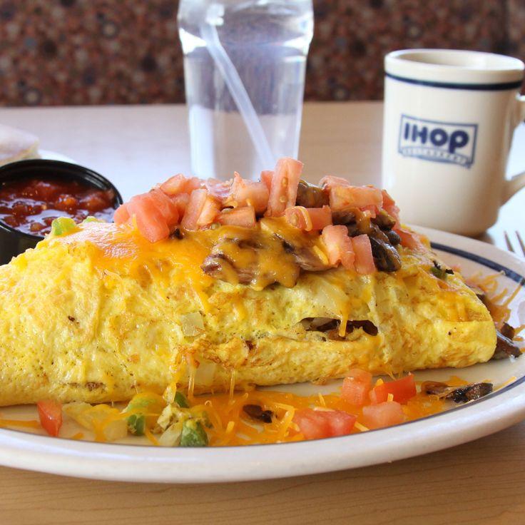 Big omelette, even bigger flavor.