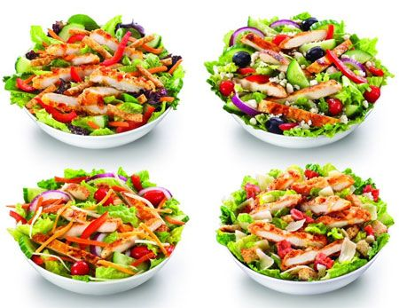 The 5 Best Fast Food Salads