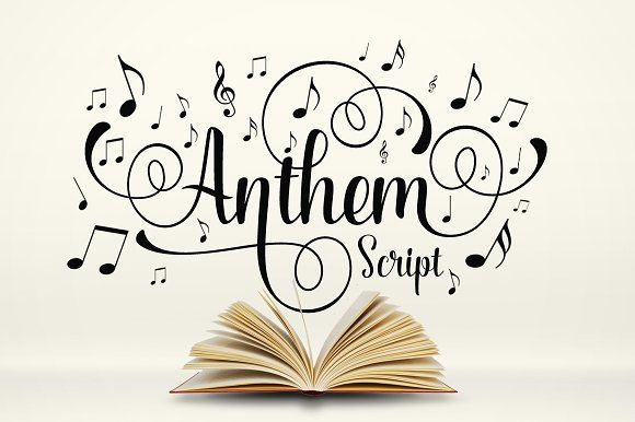 Anthem Script by Graptail on @creativemarket