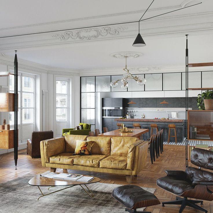 Die besten 25+ moderne klassische Innenausstattung Ideen auf - glas mobel ideen fur ihr modernes interieur von vitrealspecchi