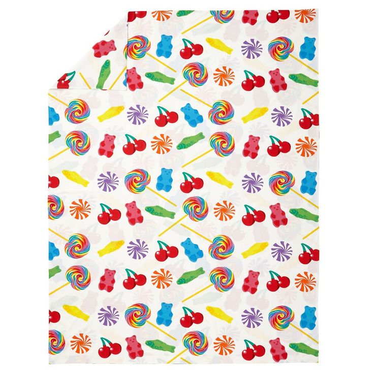 Shop Dylan's Candy Bar Organic Full-Queen Duvet Cover.  Sweet dreams are made of these! Featuring an adorable display of lollipops, gummy bears and more, this Duvet Cover is made from 100% organic cotton, (so you know it'll be delectably comfy).