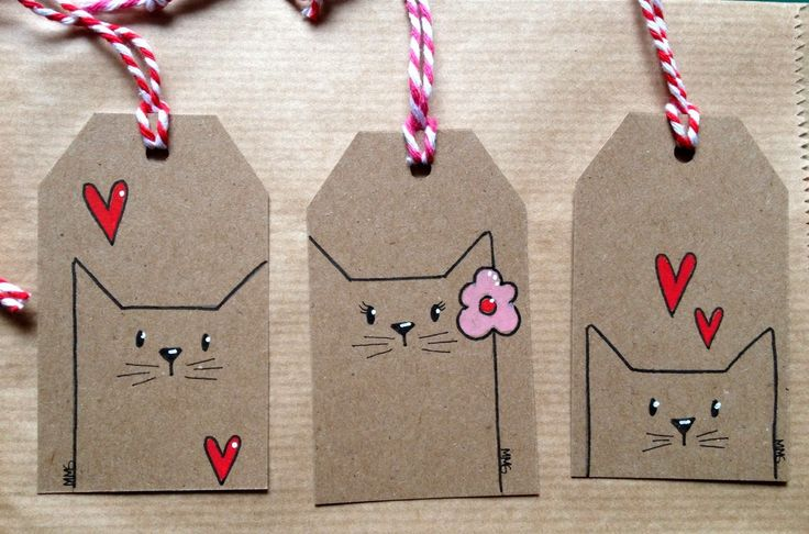 Etiquetas con gatitos - Cats tags