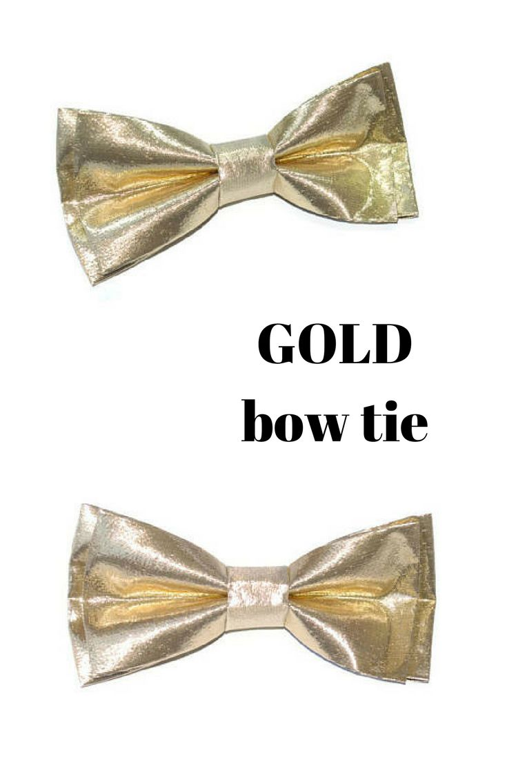 Gold bow tie  Gold wedding Navy gold wedding bow tie for groom Groomsmen bow ties Ring bearer outfit Gold metallic bowties prom outfit Gift for men Gift for him Black and gold wedding Burgundy gold wedding Blush gold wedding Green gold wedding Purple gold wedding Grey gold wedding Teal gold wedding Plum gold wedding Maroon gold wedding Mint gold wedding Coral gold wedding Peach gold wedding Rustic gold wedding
