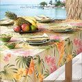 Pretty and Practical Outdoor Tablecloths: Tommy Bahama African Orchid