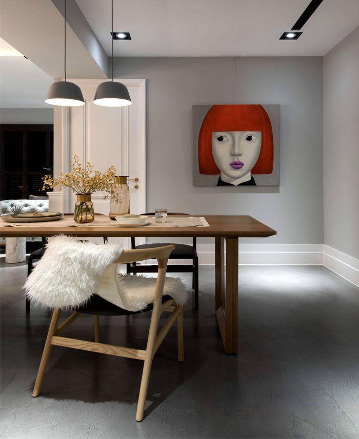 FollowT.M Design Studio ha creato questo accogliente appartamento per famiglia. Situato a Taichung, Taiwan con una superficie di 126m² casa dove tutto è progettato per il riposo e il relax. I colori utilizzati per l'arredamento sono pastello; lontano dal rumore della città. Il designer Sam Huang riesce a dare un' eleganza con mobili classici scelti …